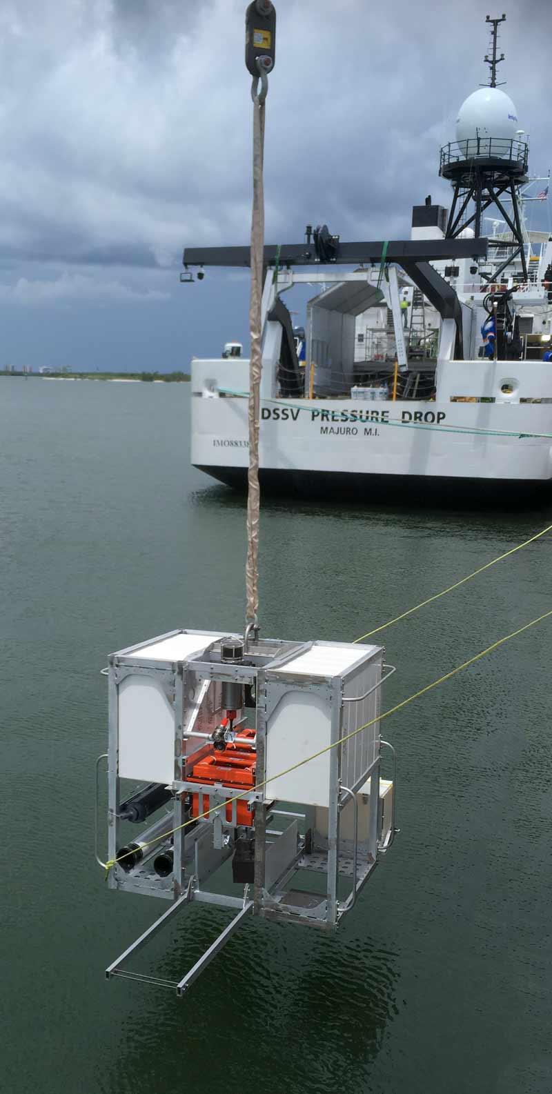 Dr Alan Jamieson's deep-sea landers